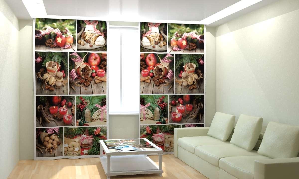 Фотошторы Новогодняя Коллекция Рим-Декор 26 от Рим Декор