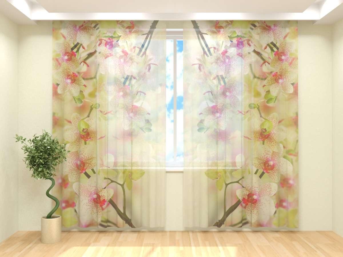 Фототюль Воздушная орхидея (2) от Рим Декор
