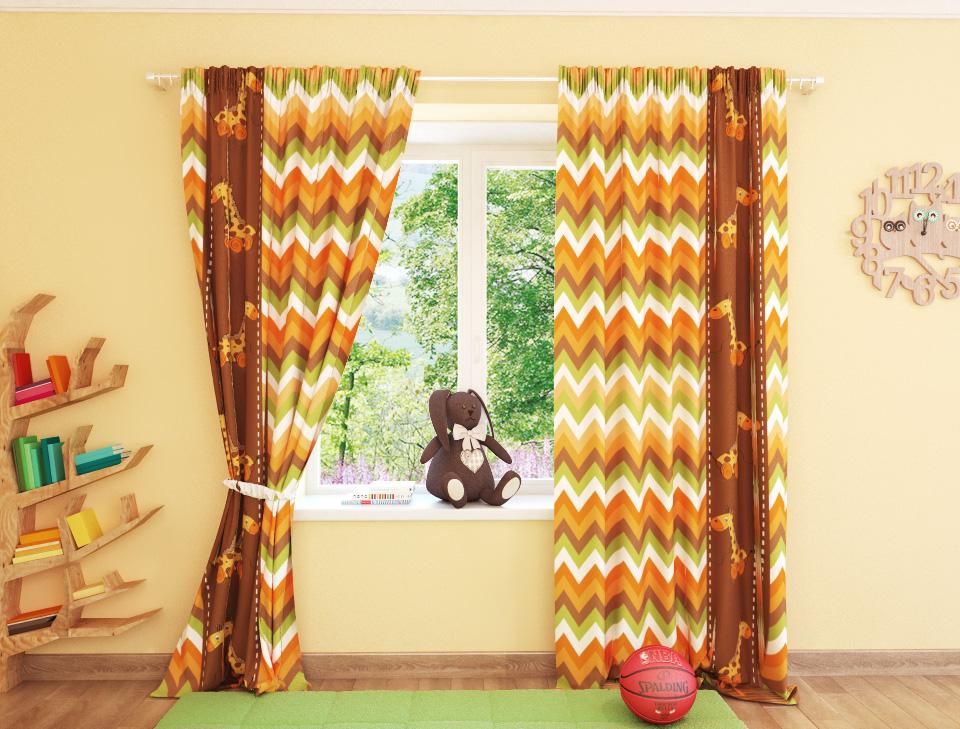 Фотошторы Жирафики от Рим Декор