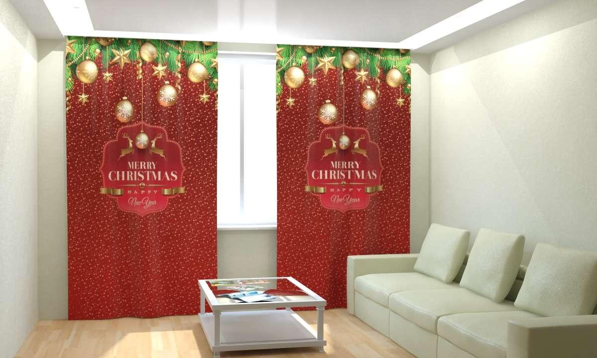 Фотошторы Новогодняя Коллекция Рим-Декор 30 от Рим Декор