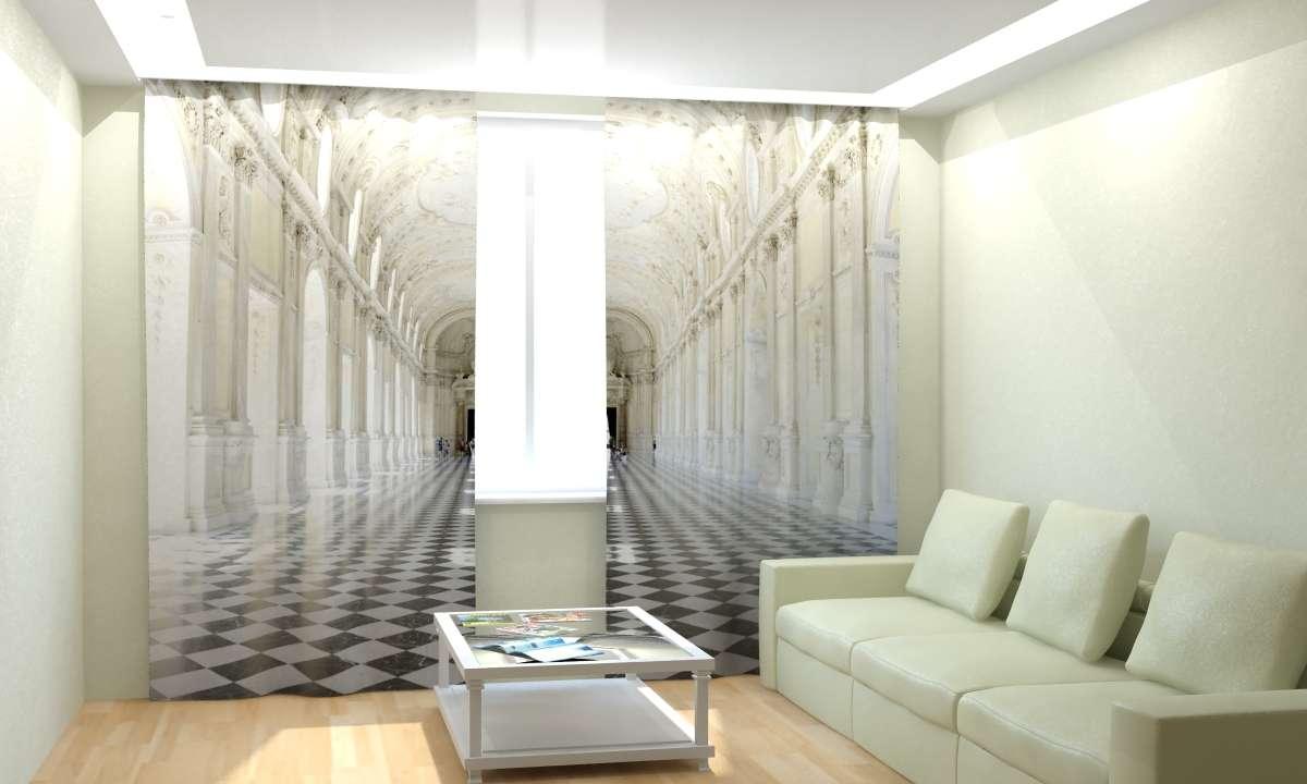 Фототюль Королевская резиденция (2) от Рим Декор