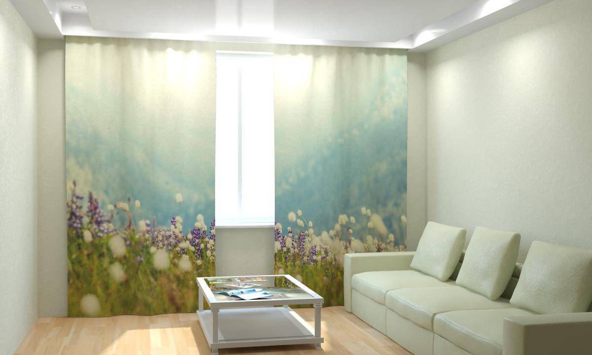 Фотопокрывало стеганое Горные цветы (1) от Рим Декор