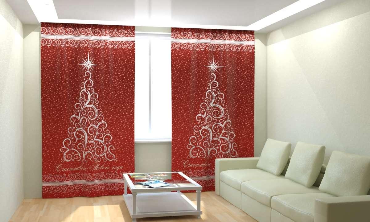 Фотошторы Новогодняя Коллекция Рим-Декор 28 от Рим Декор