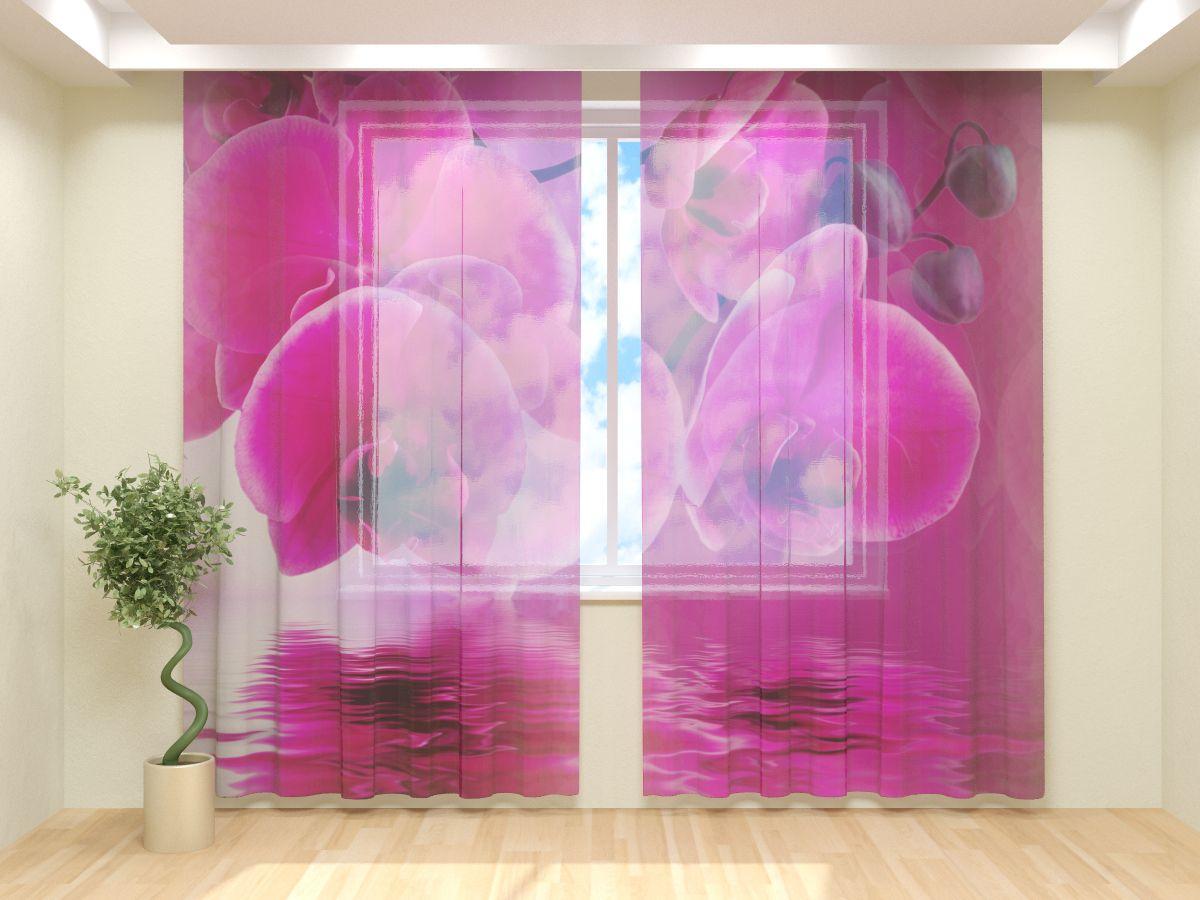 Фототюль Розовая орхидея (1) от Рим Декор
