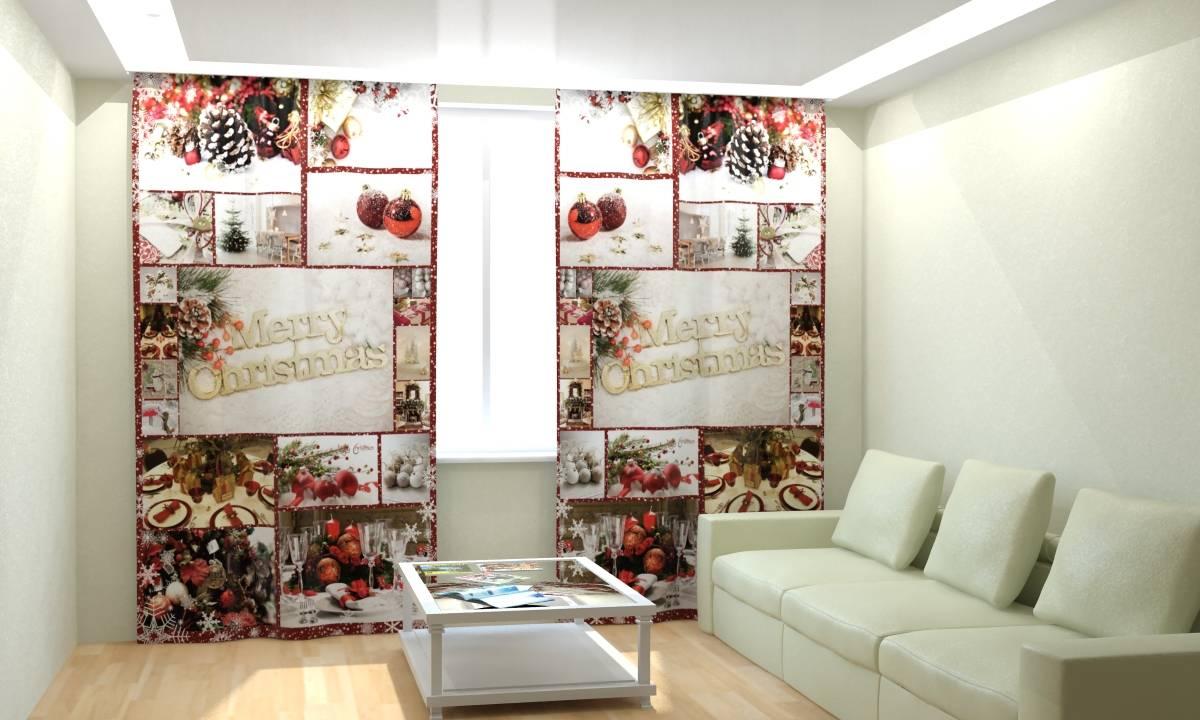 Фотошторы Новогодняя Коллекция Рим-Декор 35 от Рим Декор
