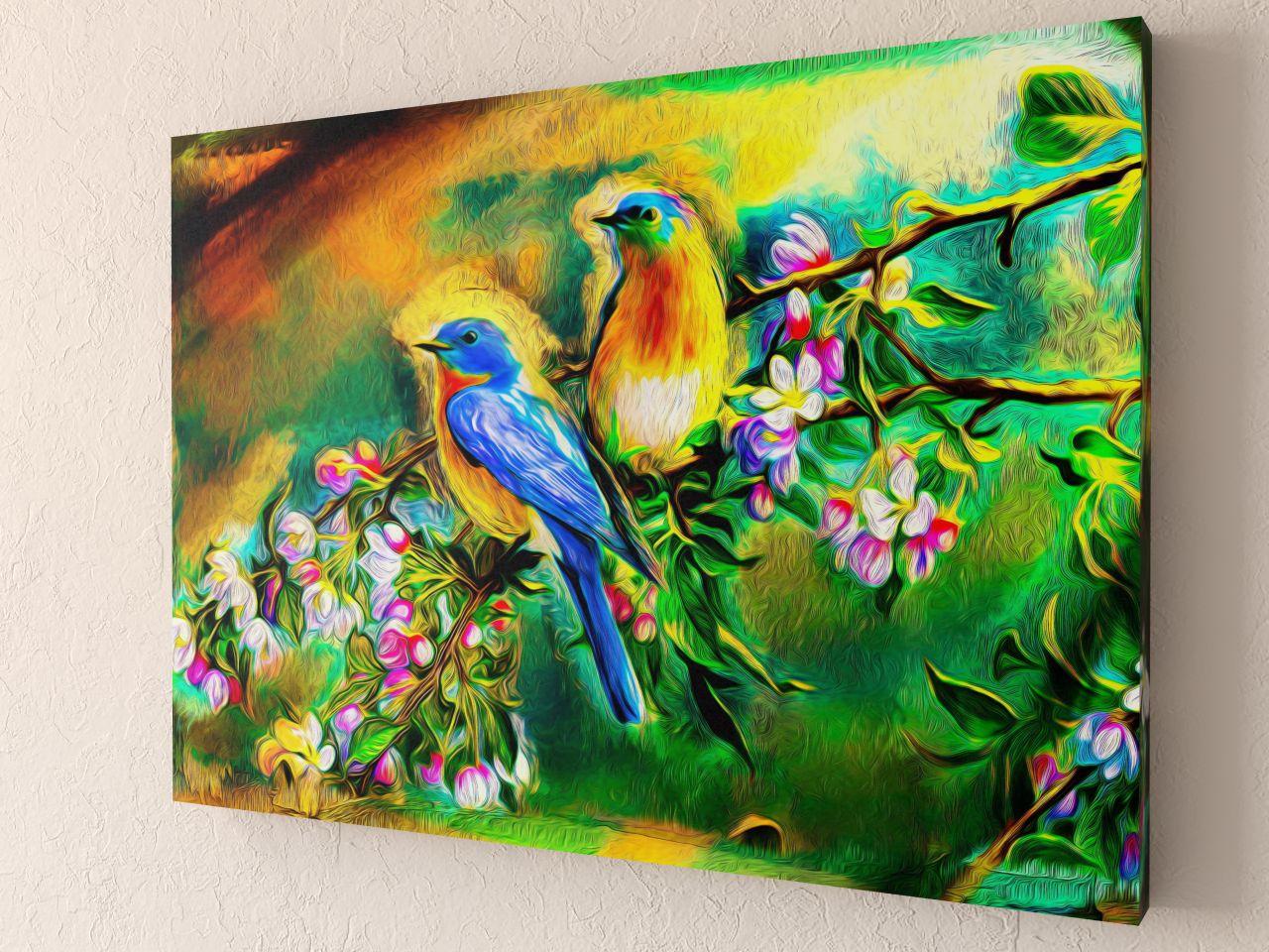 Фотокартина Райские птицы (1) от Рим Декор