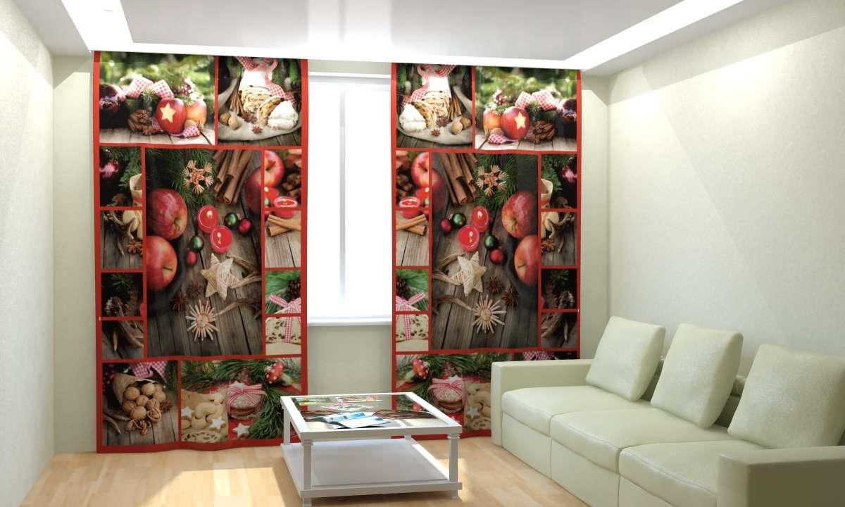 Фотошторы Новогодняя Коллекция Рим-Декор 27 от Рим Декор