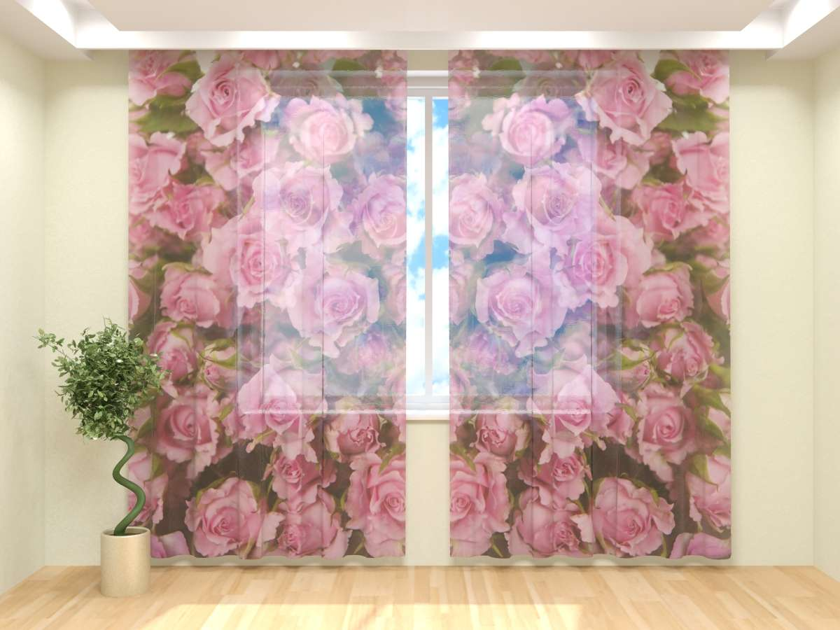 Фототюль Нежные розы (4) от Рим Декор